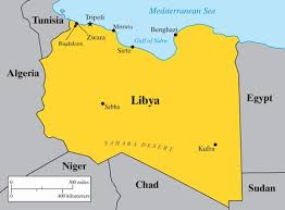 libia map
