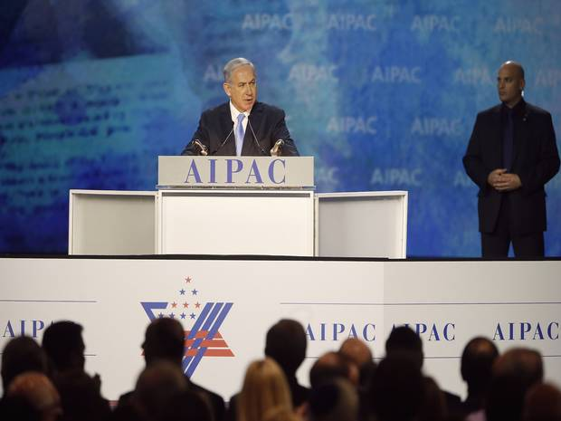 bibi at aipac
