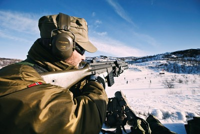russian soliders in artic