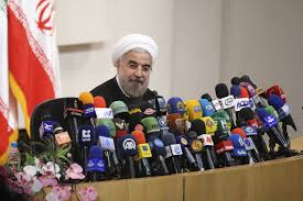 rohani press conference